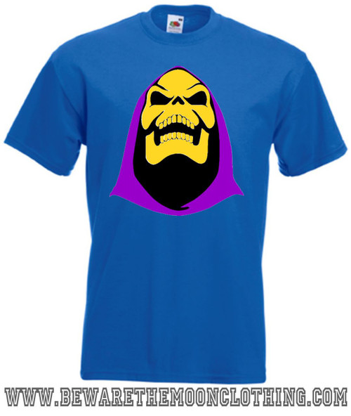 Mens royal blue Skeletor Masters Of The Universe T Shirt