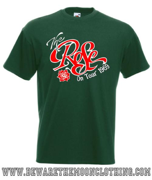 Bette Midler The Rose concert tour mens bottle green T Shirt