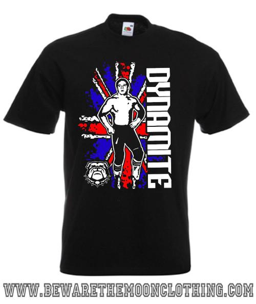 Dynamite Kid Wrestling Legend T Shirt mens black