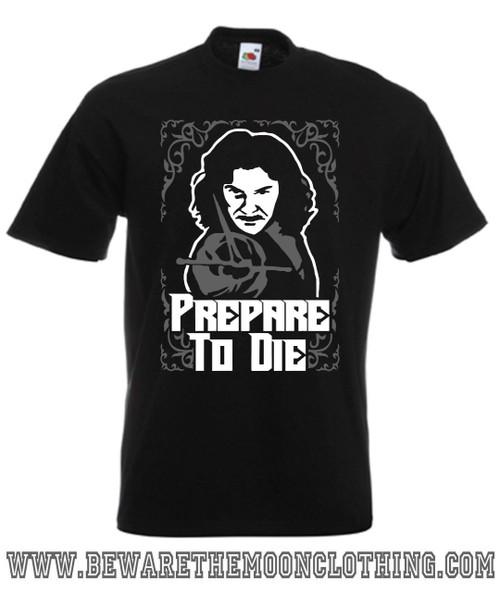 Inigo Montoya The Princess Bride Movie T Shirt mens black