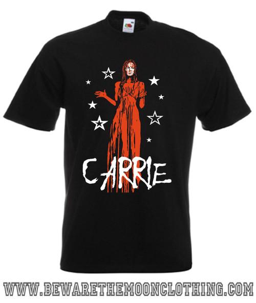 Carrie Horror Movie T Shirt mens black