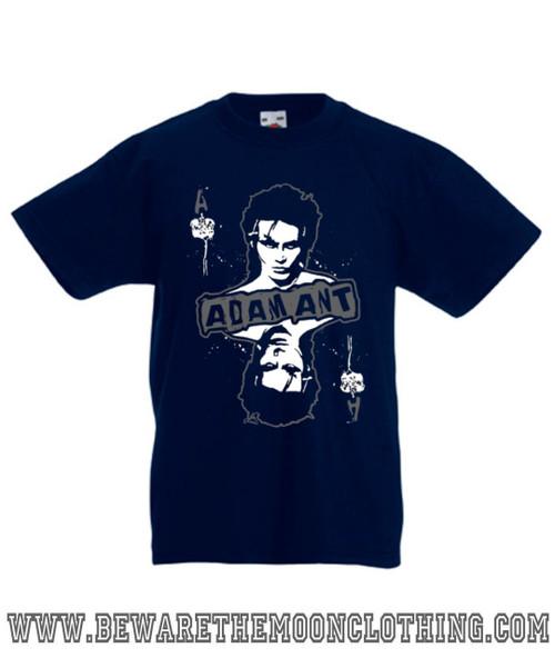 359454a4 Adam Ant Retro 80s Music T Shirt / Hoodie | Beware The Moon Clothing Co
