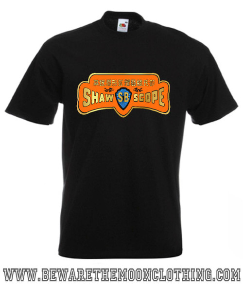 Shaw Scope Shaw Brothers Studio Movie T Shirt mens black