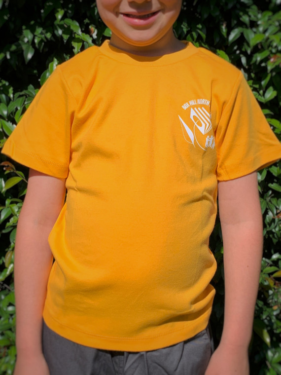 House T-Shirt Yellow (Yarra)