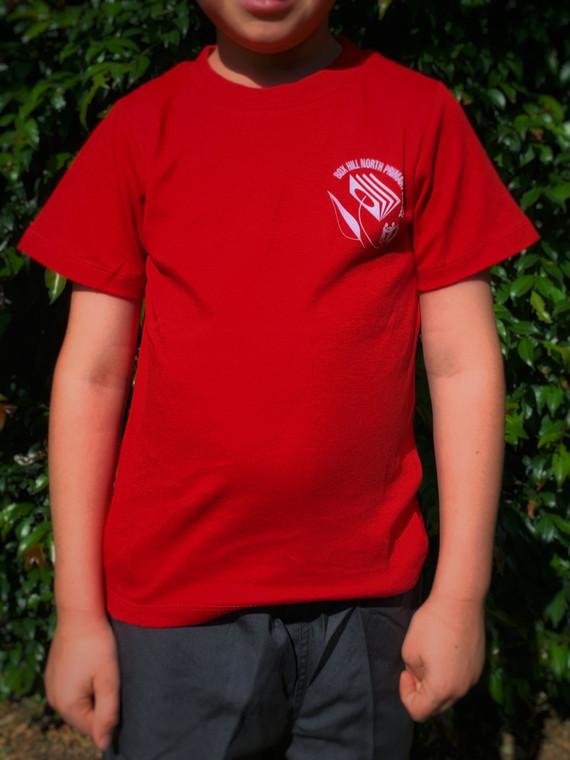 House T-Shirt Red (Koonung)