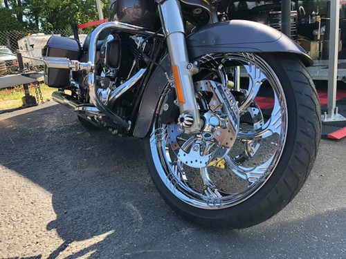 SLASHER FORGED CHROME 2000-2020 ROAD KING