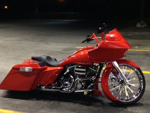FUEL FORGED CHROME TRI GLIDE AND FREEWHEELER