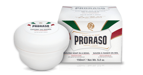 Proraso Shaving Soap in a Bowl – Sensitive