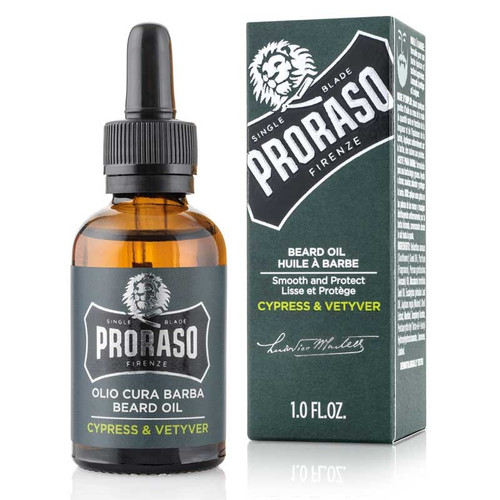 Proraso Beard Oil – Cypress & Vetyver