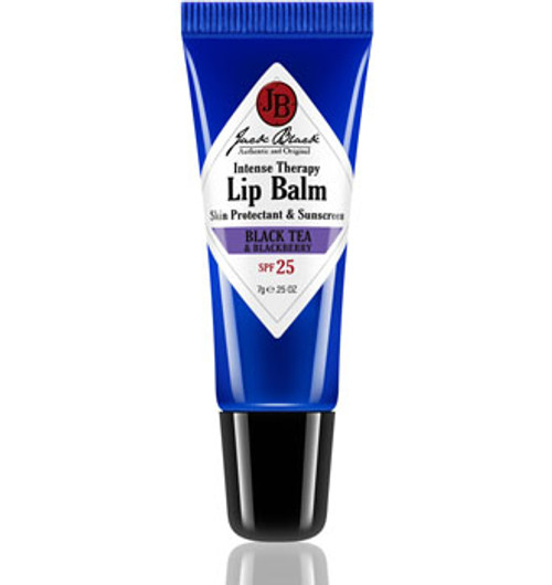 Jack Black Intense Therapy Lip Balm SPF 25 with Black Tea & Blackberry Lip Balm