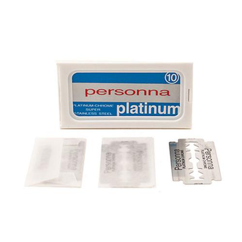 Personna Platinum Double Edge Safety Razor Blades - 10 count