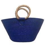 royal blue beach tote
