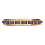 Lilac Purple Leather