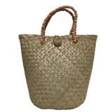 Seagrass bucket tote