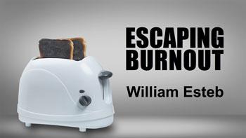 Toaster with burnt toast