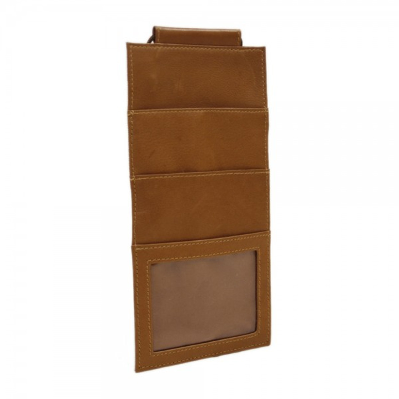 15a1d5485b6c Piel Leather Hanging Travel Wallet 2856