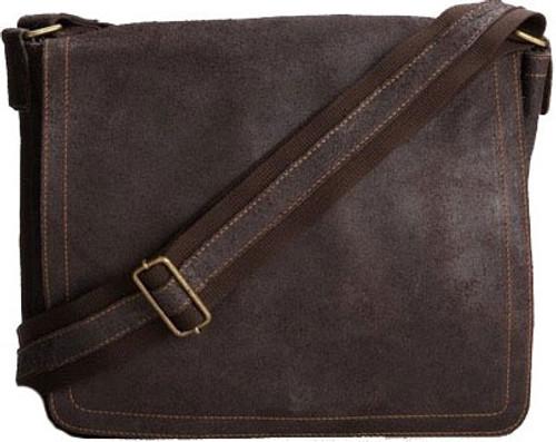 739d2546eb21 Edmond Leather Vintage Messenger Bag (Small)