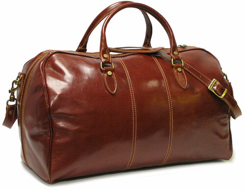 8bf0be94c67a Korchmar Twain Lux Leather Duffel Bag Duffle Bag L1043