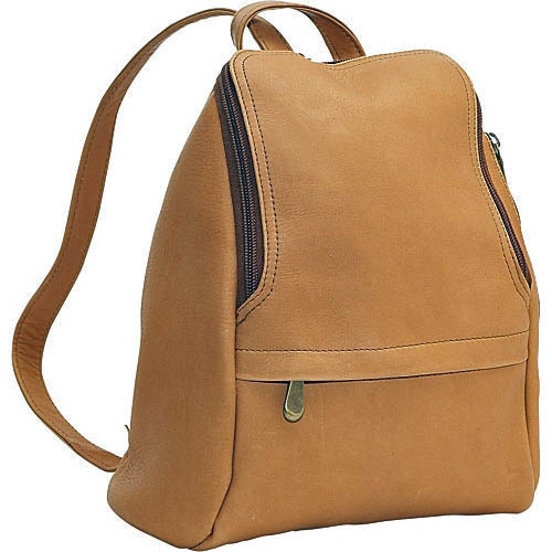 a5a0b21d5d Le Donne Zip Around Mini Backpack 030 Leather Backpack for Women