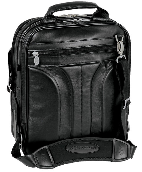 cc9949ba5317 McKlein Lincoln Park 41655 Leather Backpack Briefcase Three-way ...