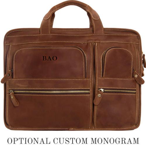582b1754237b ... Pratt Leather Bradley Business Bag Vintage Mocha (Monogram) ...