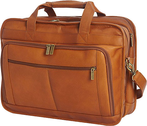 6cd06473ef Edmond Leather Deluxe Large Expandable Briefcase