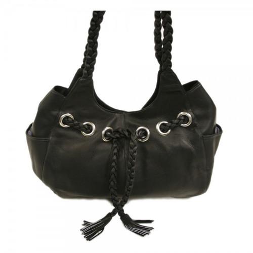 Piel Leather Braided Hobo 2748 e35e6091c6d61