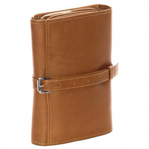 798fda92216e Piel Leather Tri-Fold Buckle Toiletry Kit 2998