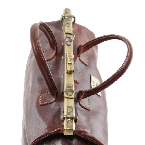Tuscany Leather Barcellona Leather Gladstone Doctor Bag 4c4f96f907ffd