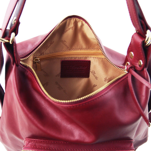 Tuscany Leather TL Leather Convertible Bag aaec20165858d