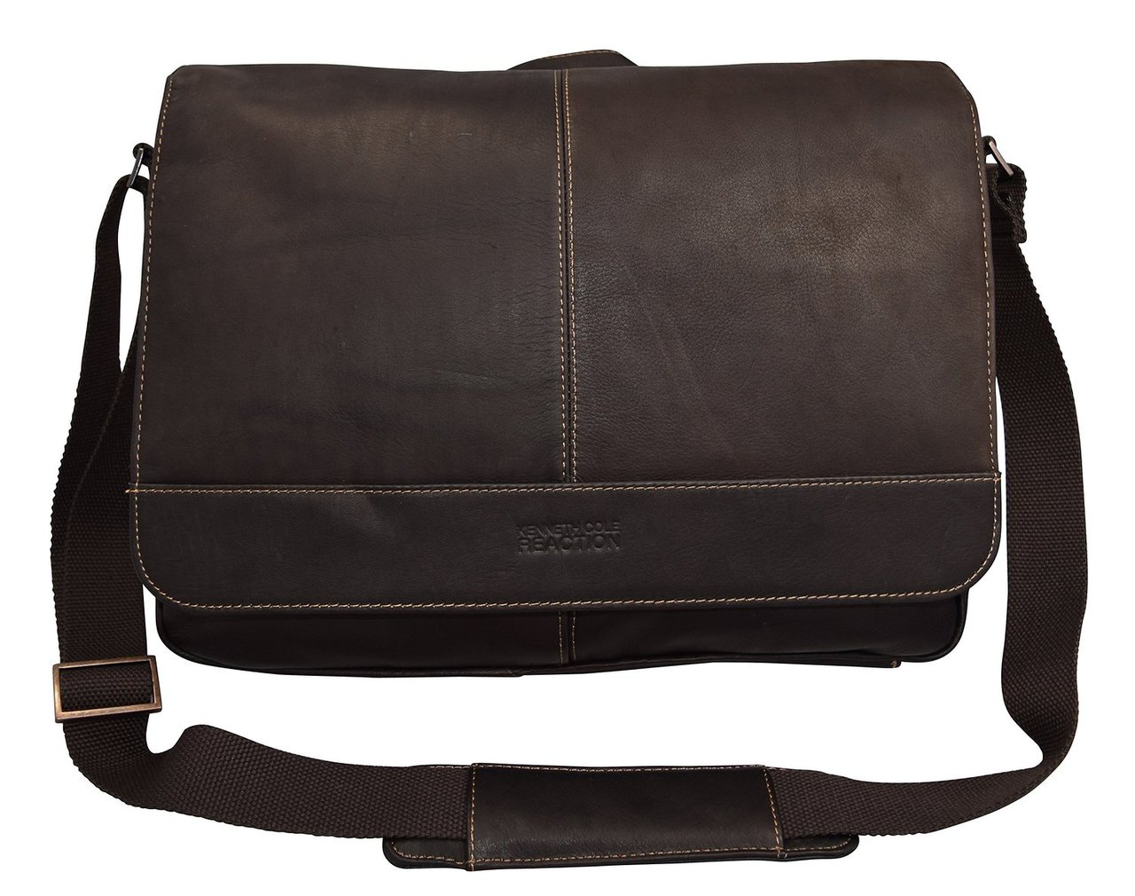 fb728a40b7 Kenneth Cole Reaction Risky Business Colombian Messenger Bag 52454