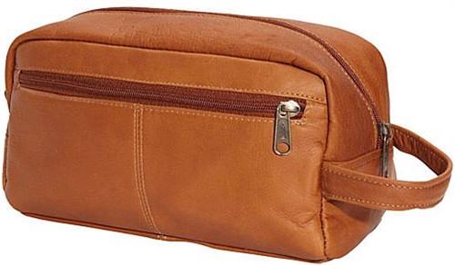 Edmond Leather Toiletry Bag Shaving Kit Dopp Kit