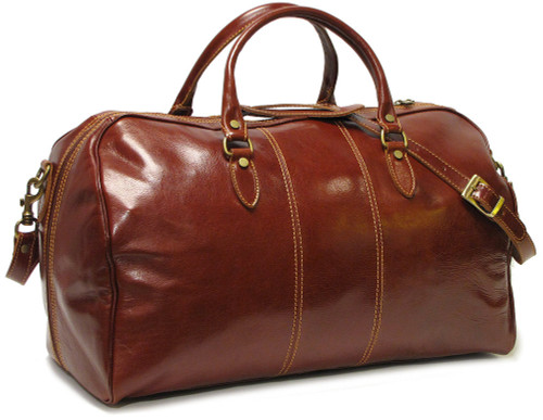 Floto Venezia Duffle Bag Leather Duffle Bag Duffel Bag 18