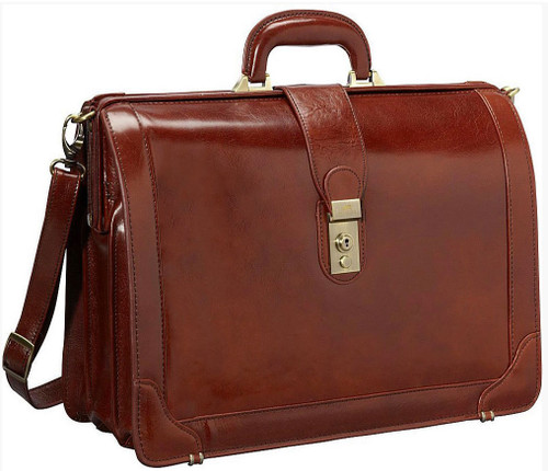 Mancini Luxurious Italian Leather 17 Quot Laptop Litigator
