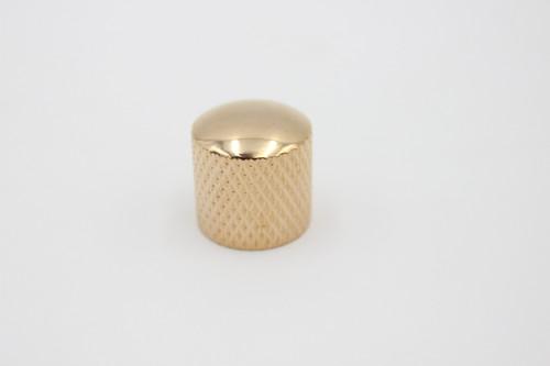New Gold Press-on Guitar Dome knob