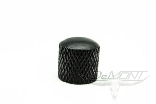 New Black Press-on Guitar Dome knob