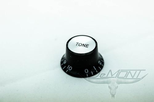 Top Hat Guitar Tone Speed Knob black / silver