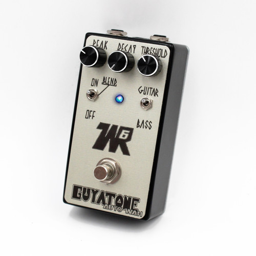 Guyatone WR6 Auto Wah Black / Silver - Designed in Japan, Made in USA!
