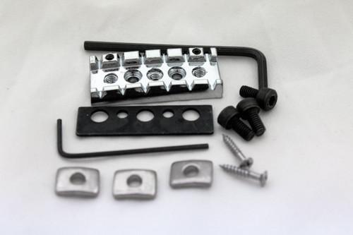 Floyd Rose style Adjustable Height Locking Guitar 42mm Chrome Nut -NEW