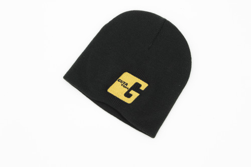"Guyatone Beanie Knit Hat w/ Embroidered Gold ""G"" logo"