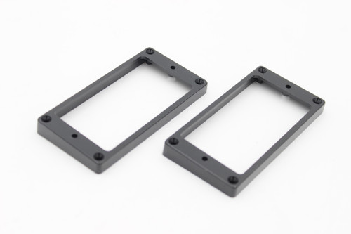 (2) Flat Bottom Black Pickup Frame Mounting Rings