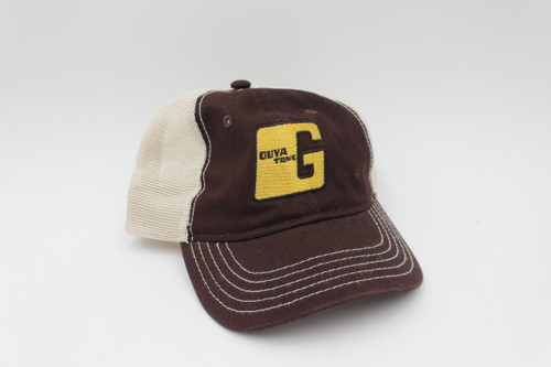 Guyatone Vintage Guitar Official Baseball Hat - Cap - Gold Logo