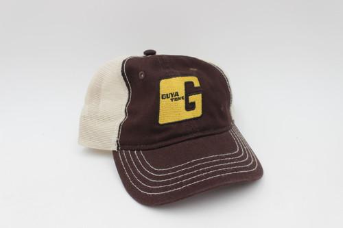 Guyatone Vintage Guitar Official Baseball Hat - Cap - Gold Logo