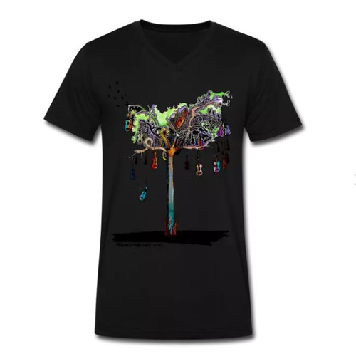 Ukulele Tree – Men's T-Shirt