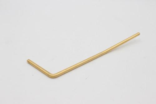 Guitar Strat Style Trem Tremolo Whammy Bar Arm - Gold Satin - Wilkinson / Gotoh VS100N pop in