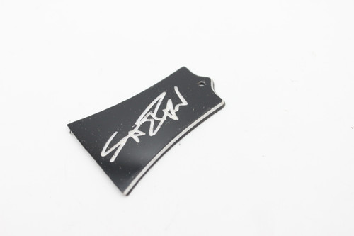 Washburn Scott Ian Signature Truss Rod Cover