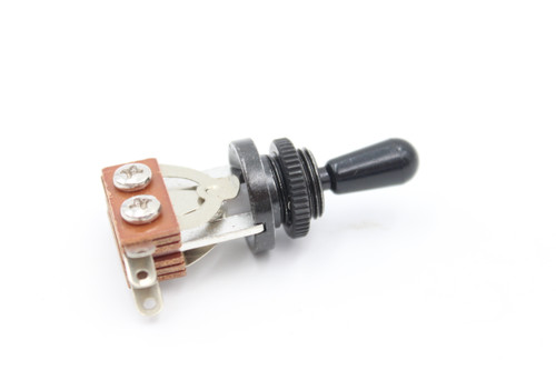 3-way Guitar Toggle Switch for LP - Black w/ Black Tip