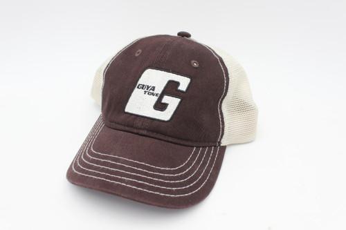 Guyatone Vintage Guitar Official Baseball Hat - Cap - Silver Logo