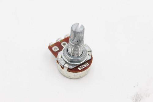 (1) B500 Linear Taper Strat / LP Small Tone Pot 15mm Shaft for Guitar