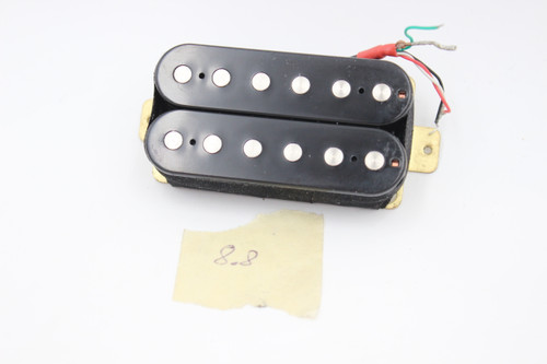 Unknown Coil Tap-able Black Bridge Humbucker Guitar Pickup 8.8k